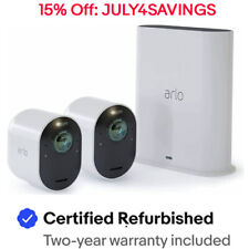 Arlo VMS5240-100NAR 4K UHD Wire-Free 2 Cam Security System Certified Refurbished