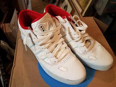 low priced a87ae 54b0d adidas SKATEBOARDING Men's GONZ CIERO WHITE TYVEK Mark Gonzales - size 11  EUC