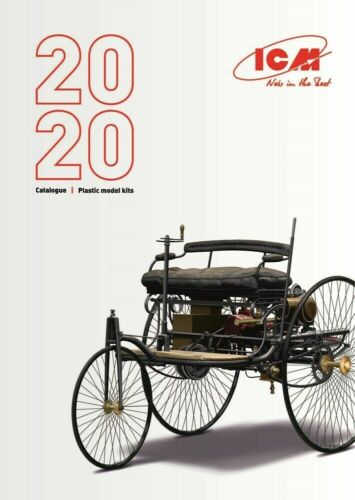 Katalog ICM Catalogue 2020 Neu Plastic Model Kits 68 Seiten