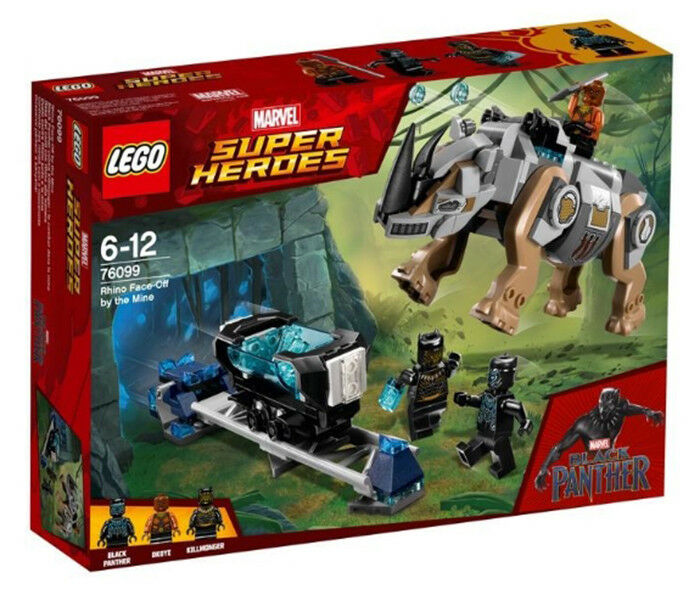 LEGO 76029  Super Heroes MARVEL Rhino Face-Off by the Mine (New)