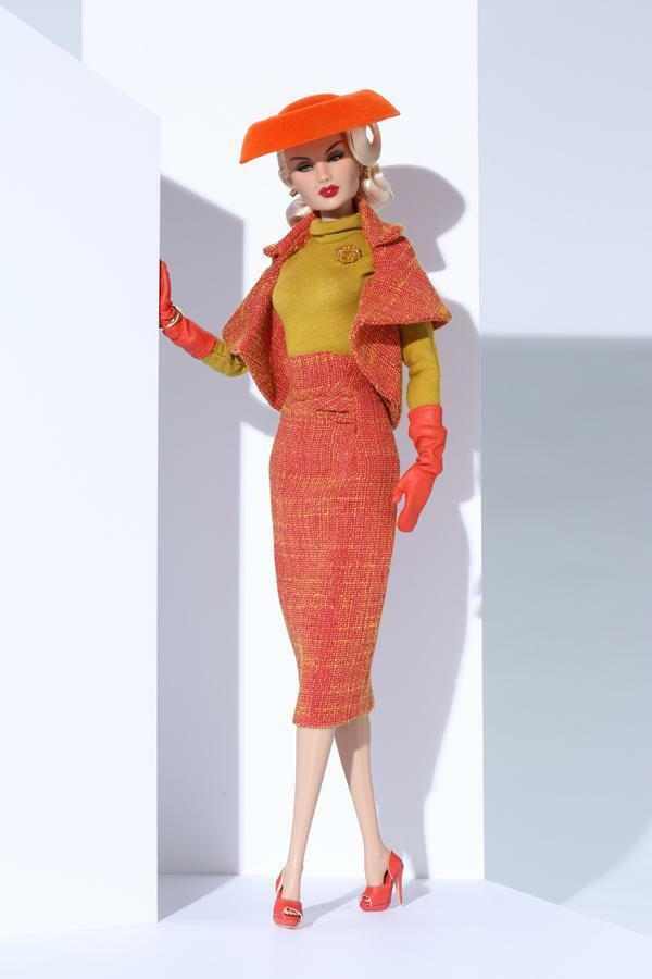 Fashion royalty Tangier Tangerine Constance Madssen East 59th outfit