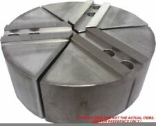 """6-RTG-5200A ALUMINUM ROUND JAWS FOR TONGUE GROOVE 5/"""" CHUCK WITH A 2/"""" HT 3PC SET"""