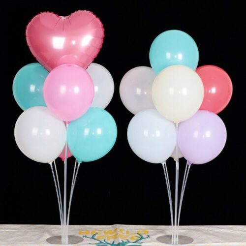 Plastik Luftballon Halter Stäbe Tasse Ballons Ständer Hochzeit Party Dekoration