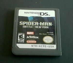 Nintendo-DS-Game-Plays-on-Dsi-Dsl-3DS-SPIDER-MAN-BATTLE-FOR-NEW-YORK