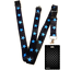 Black-CHECKERS-Standard-size-ID-card-badge-and-lanyard-neck-strap-holder-SPIRIUS thumbnail 74