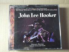 John Lee Hooker - Gold Collection  (40 tracks) 1998 2 x CD fat box R2CD 40-07