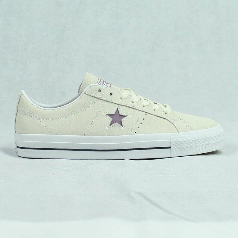 Converse One Zapato Star Pro buey Entrenadores Zapato One en Crema/Rosa Suave en tamaño de Reino Unido 6,7,8,9,10 bbcf83