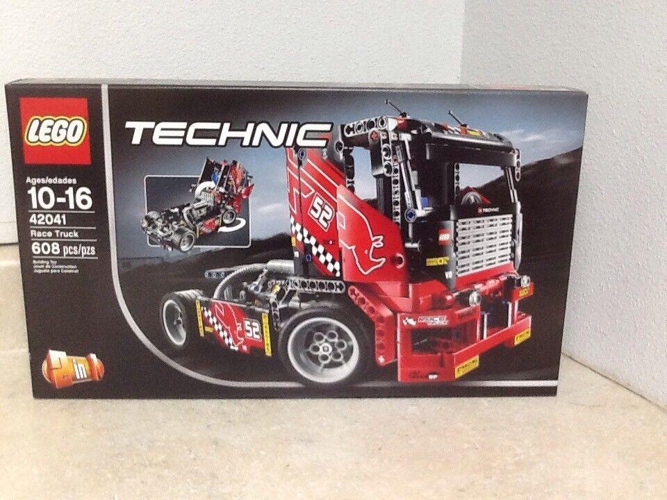 Lego Technic 42041 camión de carrera