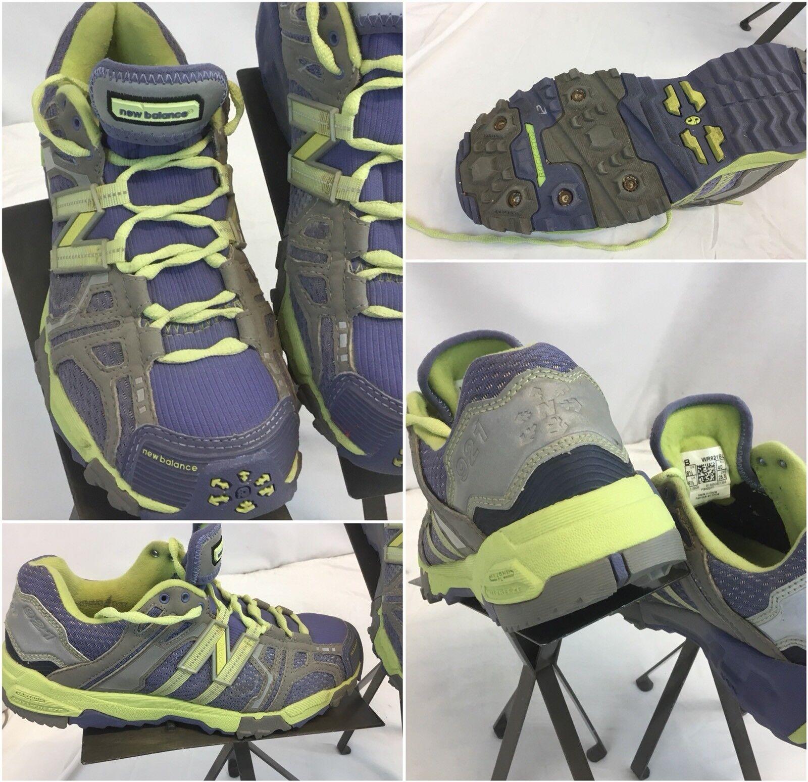 New Balance 921 Rock Stop  Chaussures  Sz 8.5 femmes gris Violet  EUC YGI H8S-15