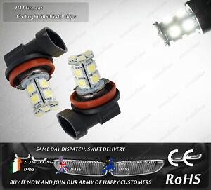 2x-H11-6000k-LED-HID-Fog-Lights-Xenon-Bulbs-DRL-Lamps-Parking-Position-bULBS