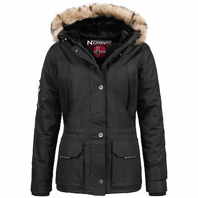 Geographical Norway Amadel Lady Winter Jacke Parka Outdoor Damen Winterjacke