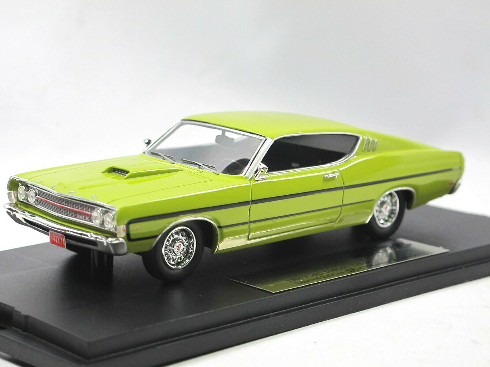 orVARG COLLECTION gc-009b - 1969 FORD TORINO-jaune - 1 43 Limited