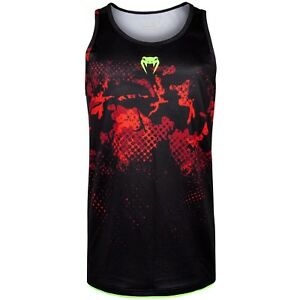 Venum-Tank-Top-034-Atmo-034-Red-Camo-Jersey-Tank-Top-Armellos-Sport-Fitness-T-Shirt