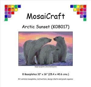 MosaiCraft-Pixel-Craft-Mosaic-Art-Kit-039-Arctic-Sunset-039-Pixelhobby