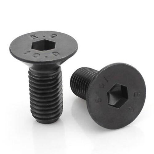1//8-40 5//32-32 3//16-24 Flat head Screw Countersunk Hex Socket Screws Bolts
