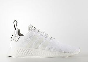 new concept 9fba4 589b9 Image is loading adidas-nmd-r2-crystal-white-size-10