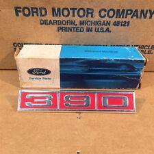 1968 OEM NOS Ford Galaxie LTD XL 390 Fender Emblem Ornament C8AZ16228-C