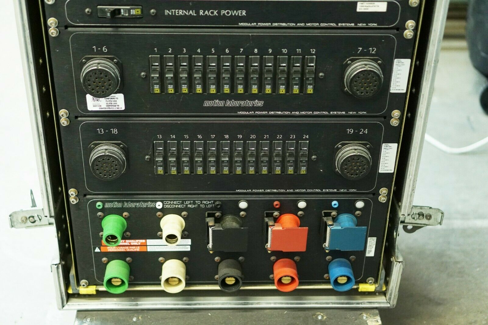 Used Motion Labs Distro Rack Power Distribution .