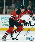 Signed 8x10 ADAM LARSSON New Jersey Devils Photo - COA