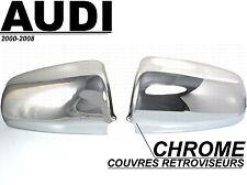 CACHES COUVRES RETROVISEURS CHROME AUDI A3 8P A4 B6 S4 B7 A6 C6 S6 SLINE QUATTRO