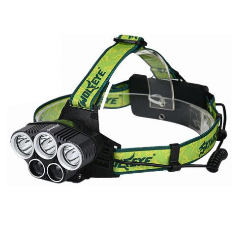 SKYWOLFEYE 5X XML T6 Scheinwerfer 20000 Lumen 4 Modus LED Scheinwerfer USB  N9I9