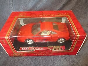 Ferrari-348-Mira-collection-Golden-Line-Metal-Echelle-1-18-jouets-miniatures