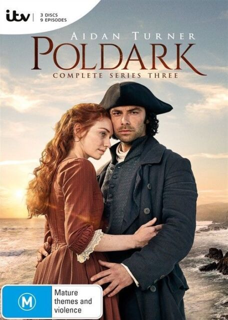 Poldark Season 3 DVD - NEW AND SEALED Genuine Aussie Release Region 4