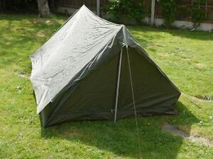 Image is loading army-surplus-military-issue-2-birth-combat-tent & army surplus/military issue 2 birth combat tent | eBay