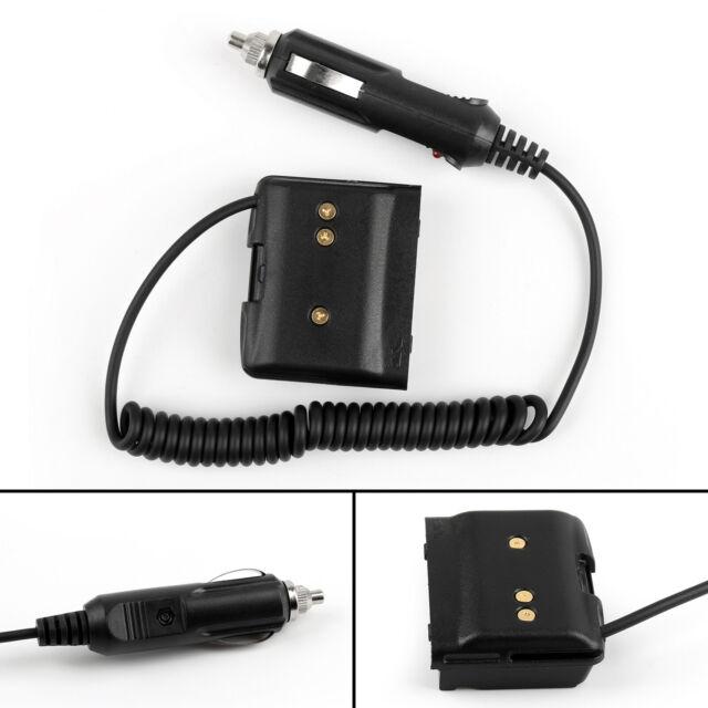 1x Car Charger Battery Eliminator Adapter Fit Yaesu VX-7R VX-6R VX-5R Radio T2