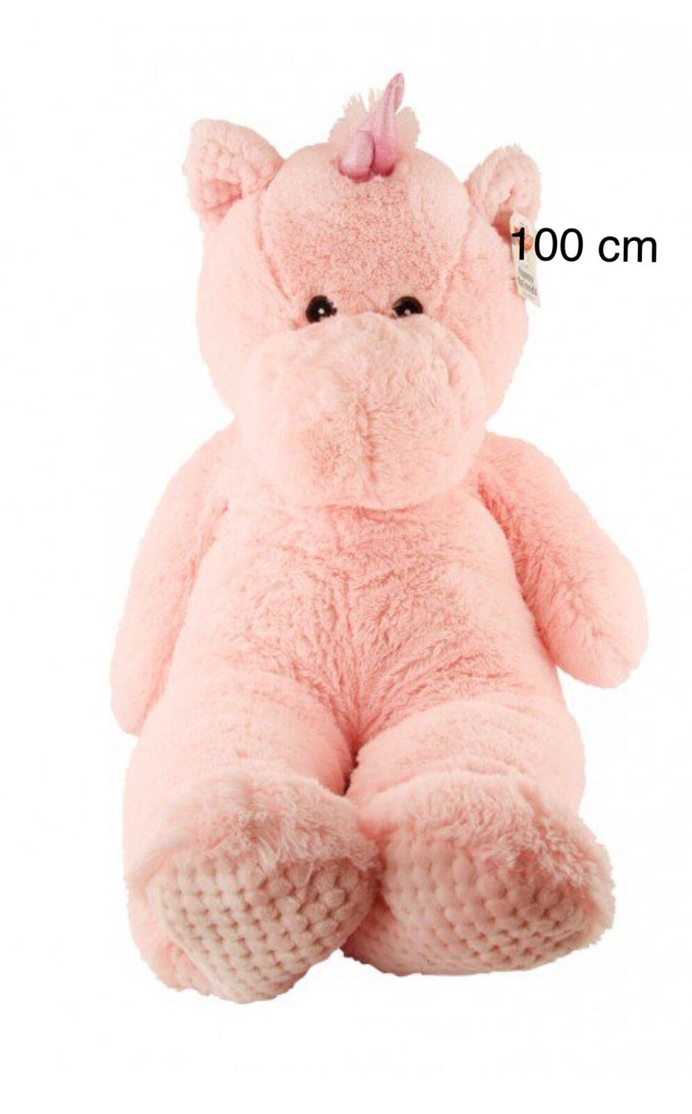 100Cm Pink Unicorn SOFT TOY TEDDY Long LARGE GIANT Christmas Kids Game Gift Play