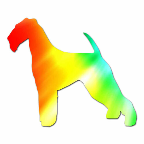 Vinyl Decal Sticker Multiple Patterns /& Sizes Airedale Terrier Dog ebn1906