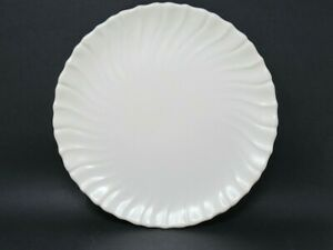 Franciscan-Coronado-Matte-Off-White-Chop-Serving-Platter-Plate-11-3-4-034-Round