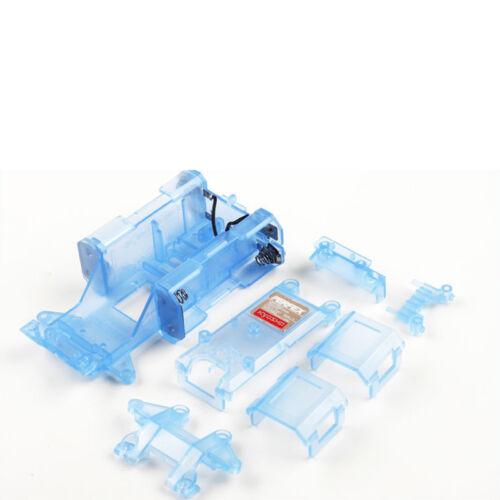 Skelton Chassis Mini-Z blau-transparent MR-01 Tuning Kyosho MZW-11CB 704150