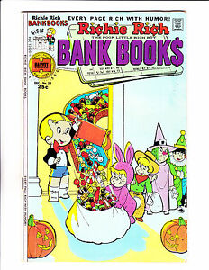 Richie-Rich-Bank-Book-No-20-1975-034-Trick-Or-Treat-Cover-034
