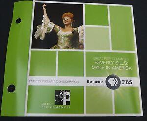 BEVERLY-SILLS-MADE-IN-AMERICA-EMMY-DVD-PBS-BIOGRAPHY-JOHNNY-CARSON-CAROL-BURNETT