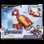 Avengers-Juguete-Lanzador-Repulsor-Iron-Man-Hasbro-E4394EU4 miniatura 1