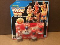 Wwf Hasbro Mini Vintage Wrestling Figures For Rumble Ring