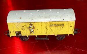 Wagon-Ferroviaire-Marklin-de-marchandise-Jamaica-echelle-HO-Vintage
