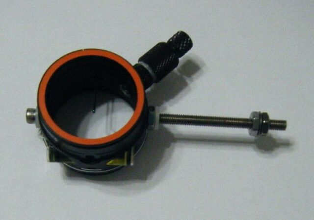 DAVIS SCOPE Black Solid .010 Green fiber optic pin..