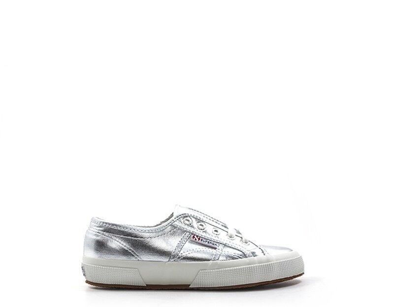 Schuhe SUPERGA Damenschuhe Damenschuhe Damenschuhe ARGENTO PU,Tessuto S002HG0-031-D 7fc6df