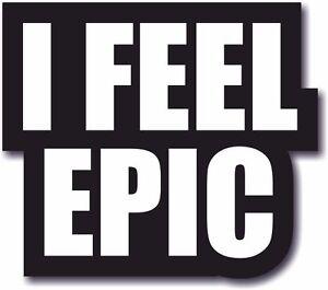 #WordProps Large - I FEEL EPIC