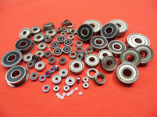 2 Stück Kugellager R8 offen  12,7 x 28,57 x 6,35   mm
