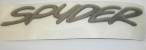 "Genuine Mitsubishi OEM Emblem /"" Spyder /""  Eclipse  2000 2001 2002"