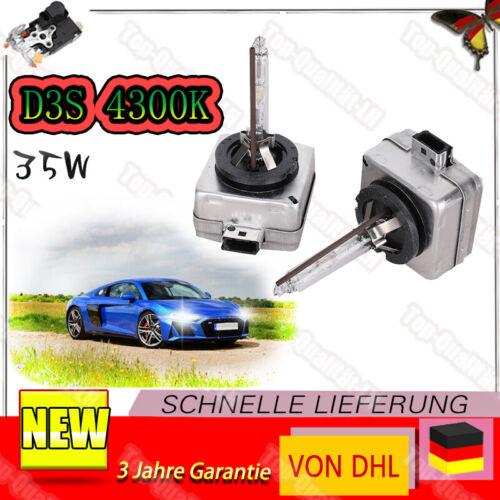 Paar D3S 4300K 35W Xenon Brenner Scheinwerfer Lampe Für Skoda Volvo E-13 DHL