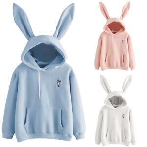 Fashion-Womens-Long-Sleeve-Cute-Rabbit-Hoodie-Sweatshirt-Pullover-Tops-Blouses