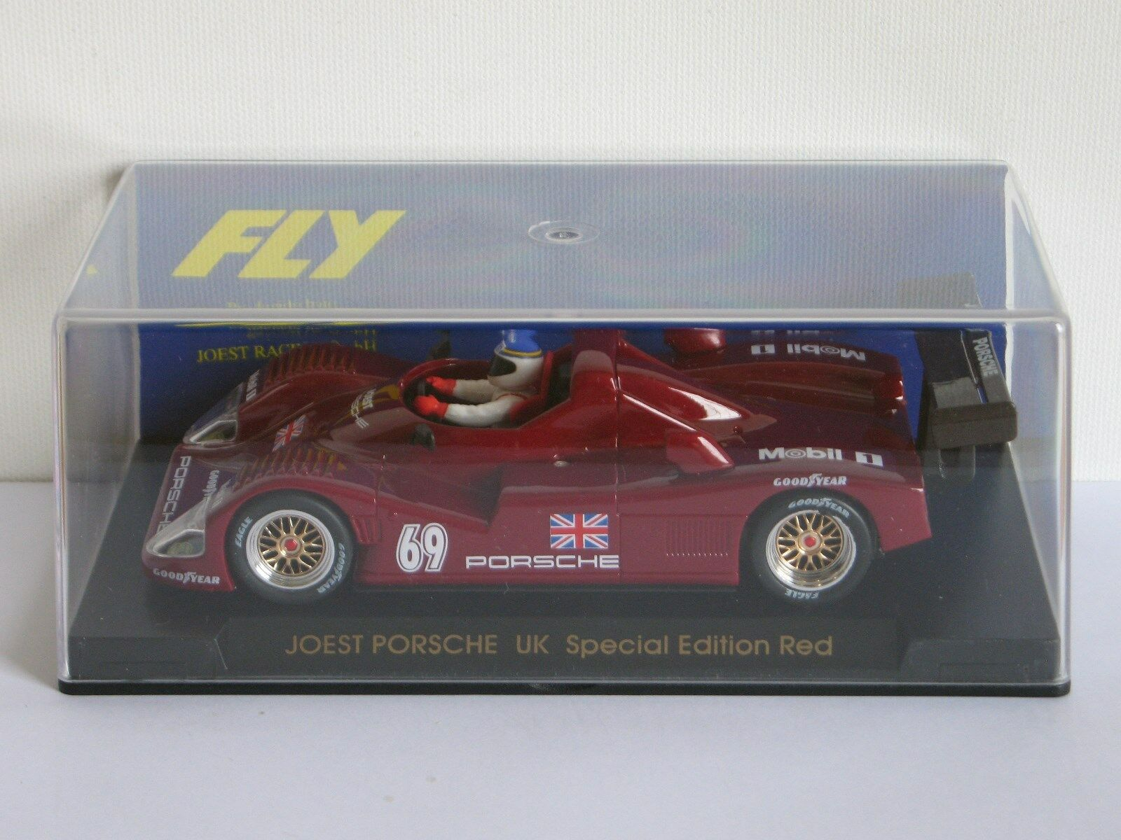 FLY Car Joest Porsche UK Special Edition Red Ref. E41