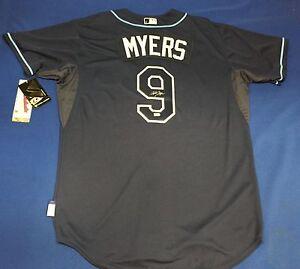 Wil Myers Signed Tampa Bay Rays Baseball Jersey MLB EK494566