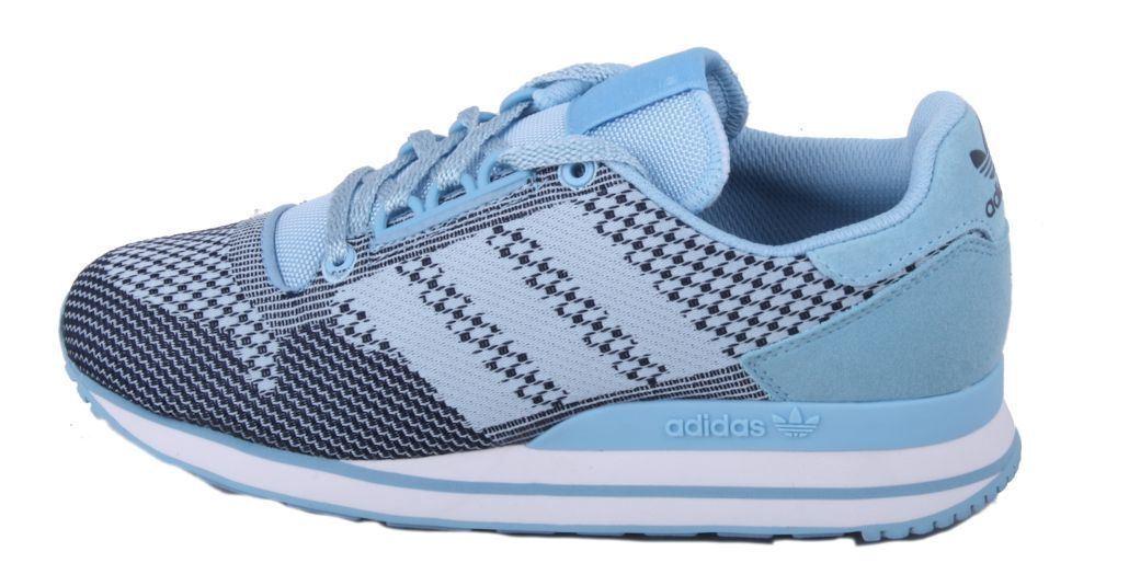 Adidas zx 500 og weben männer blau / marine / 5,5 weißen originale turnschuhe größe 5,5 / 6a0dea