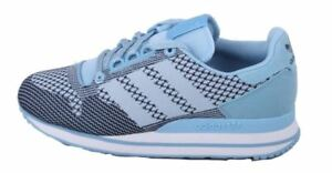 44213cca810c8 Adidas ZX 500 OG Weave Mens Blue Navy White Originals Sneakers size ...