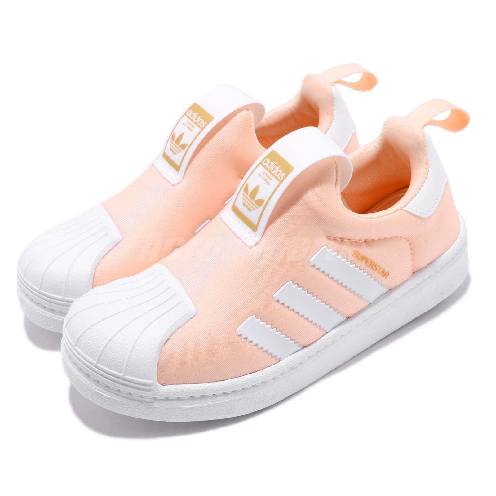 0a3586541 Adidas Originals Superstar Superstar Superstar 360 C Clear orange White Kid  Preschool shoes DB2881 6fef03